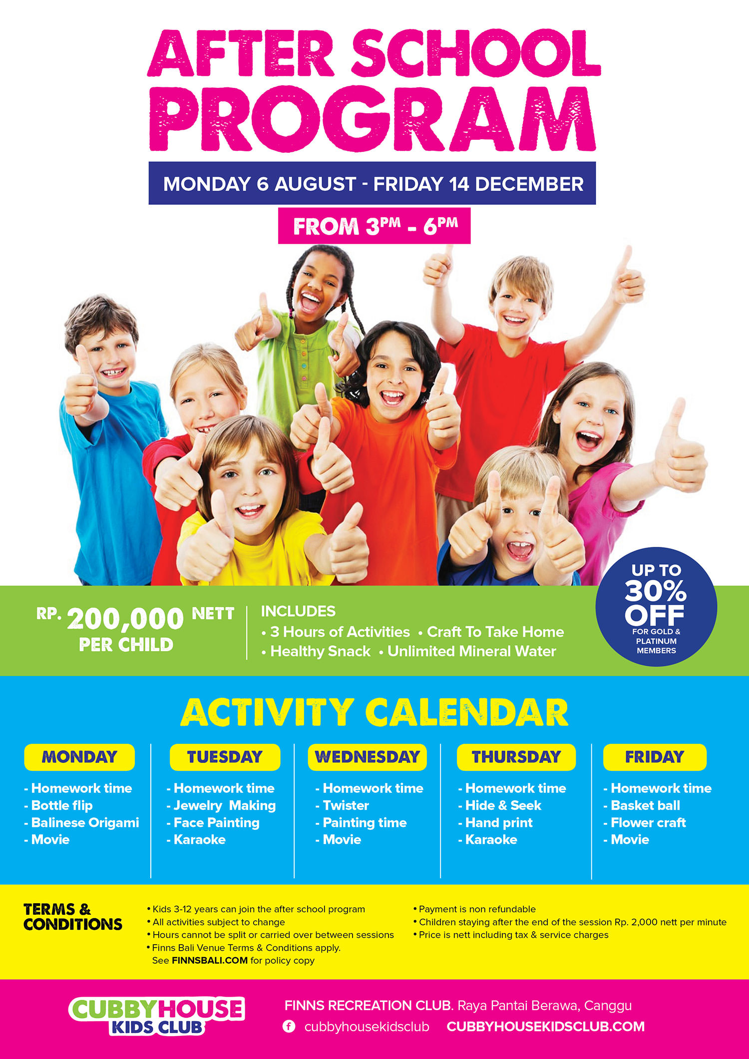 After School Program Cubby House Kids Club Bali